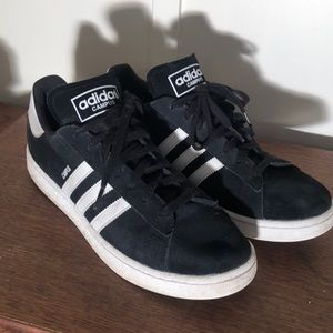 Adidas Campus Black Tennis Shoes